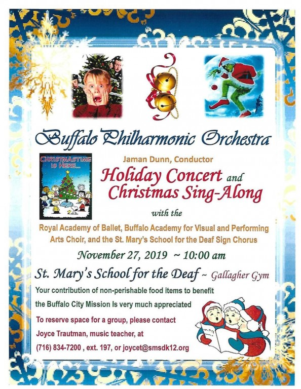St. Mary's School for the Deaf Annual BPO Holiday Concert