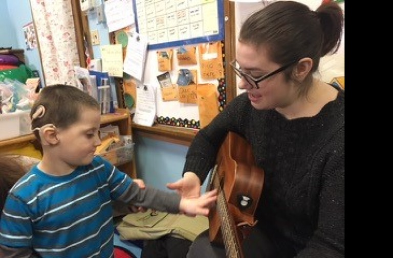 Music Therapy at Community School of Music
